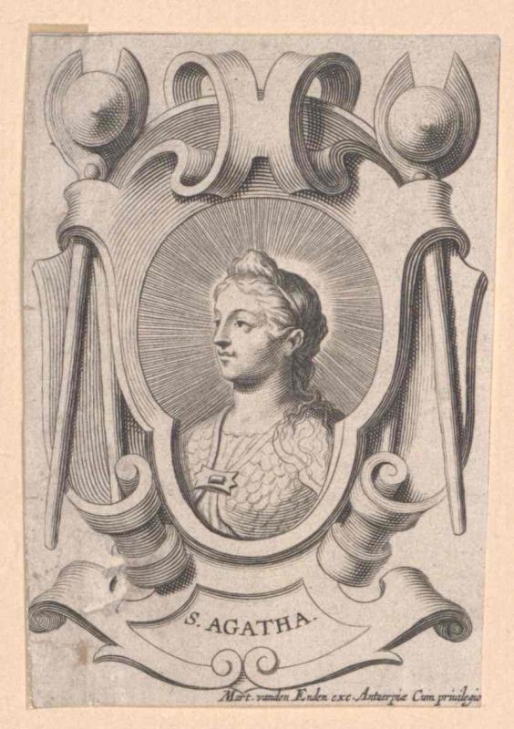 Agatha von Catania, Heilige