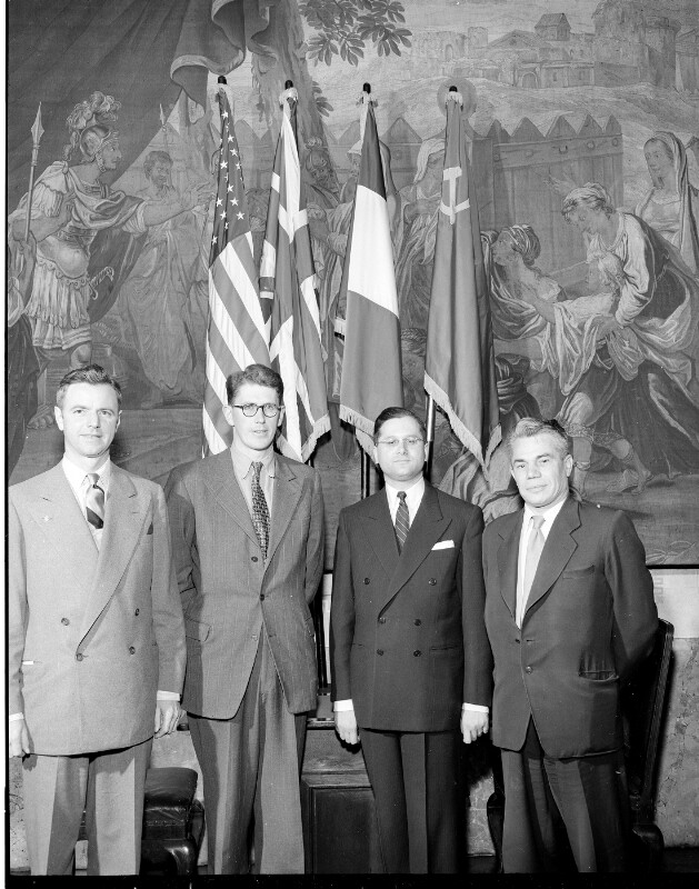 300. Sitzung des Politischen Direktoriums der Alliierten Kommission