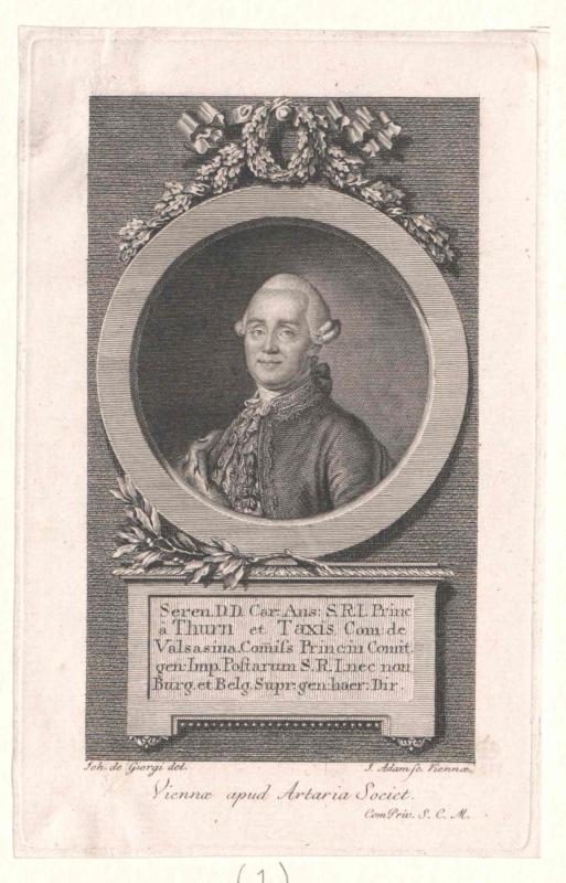 Thurn und Taxis, Karl Anselm Fürst von