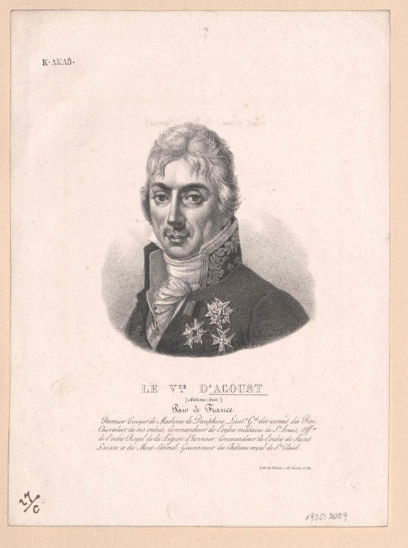 Agoult, Antoine Jean Vicomte d'