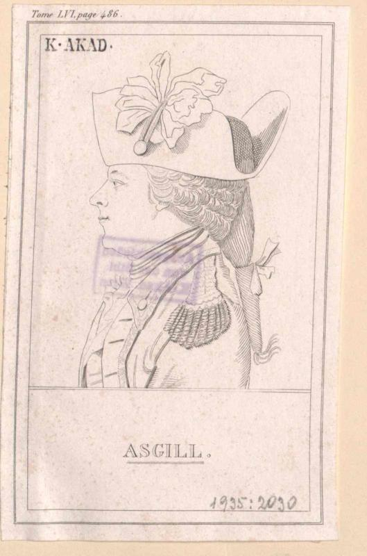 Asgill, Sir Charles 2. Baronet