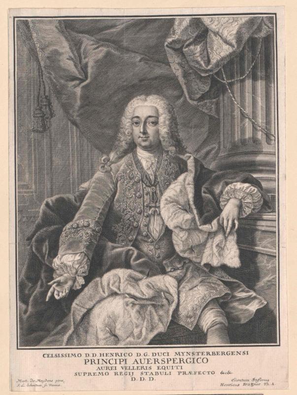 Auersperg, Heinrich Joseph Fürst von