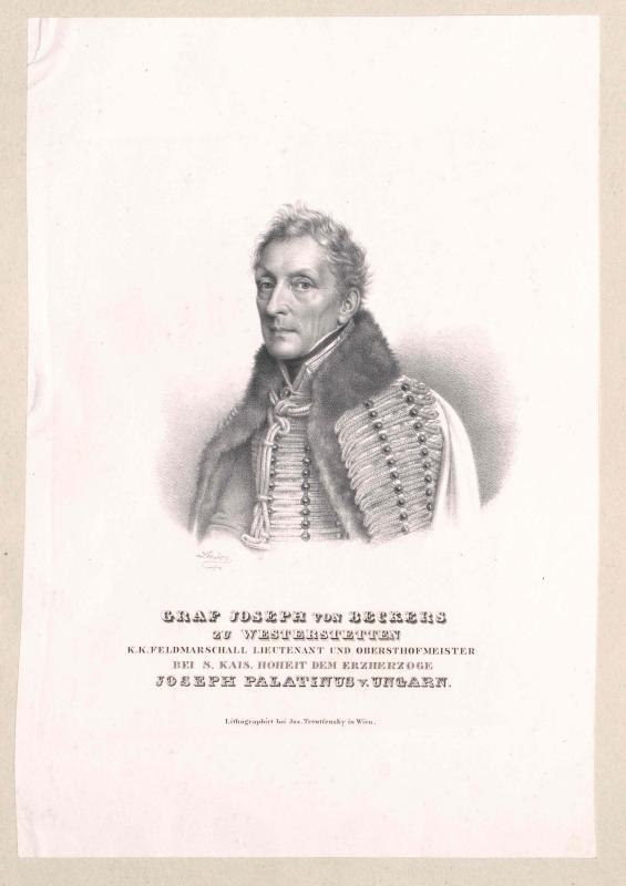 Beckers zu Westerstetten, Joseph Heinrich Anton Graf von