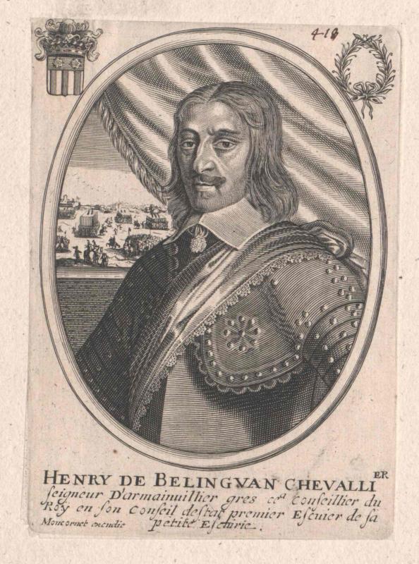 Beringhen, Comte de Châteauneuf, Henri de