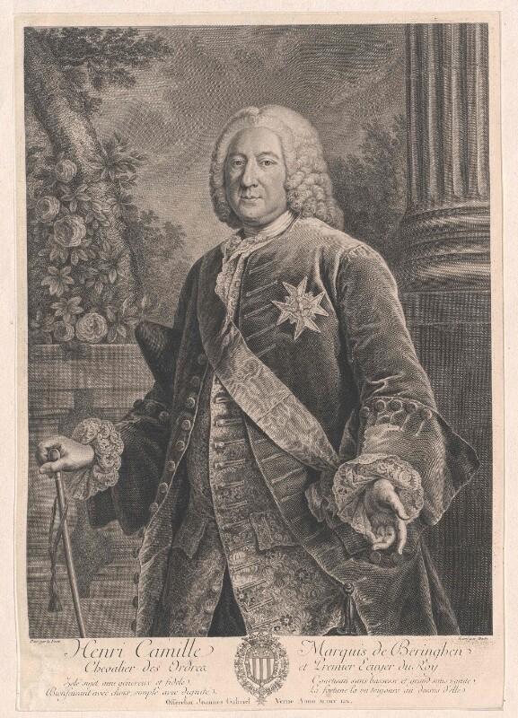 Beringhen, Henri Camille Marquis de