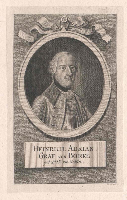 Borcke, Heinrich Adrian Graf von