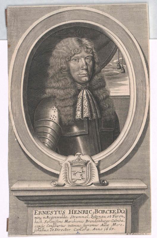 Borcke, Ernst Heinrich von