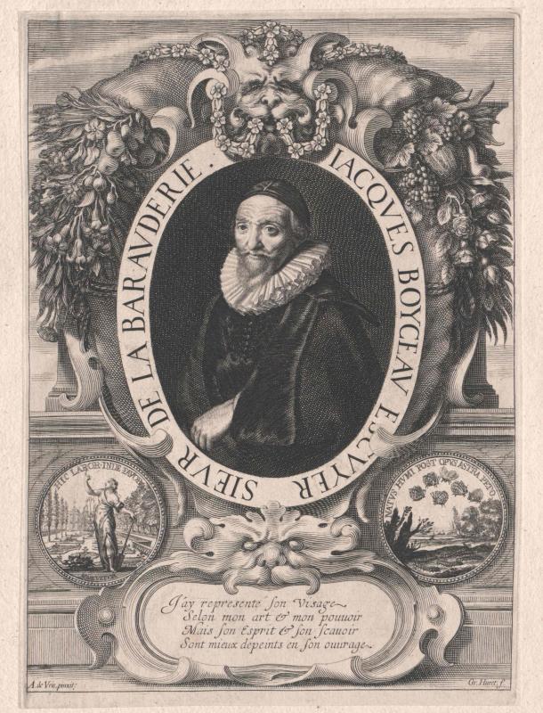 Boyceau, Sieur de La Baraudière, Jacques