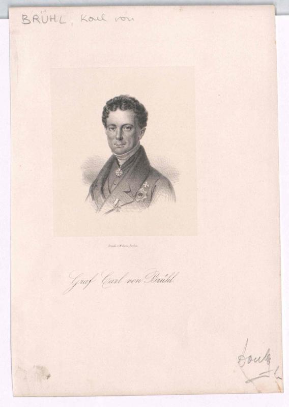 Brühl, Karl Graf von