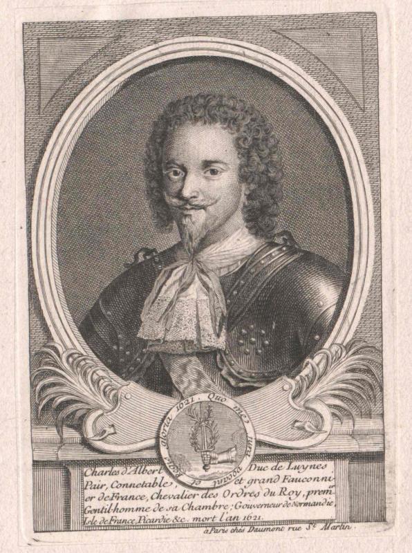 Albert, Duc de Luynes, Charles Marquis d'
