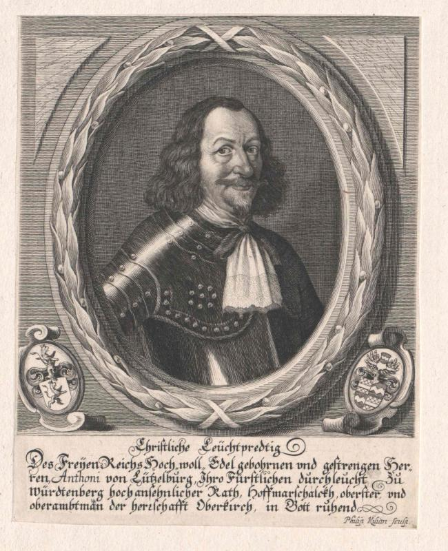Lützelburg, Anton von