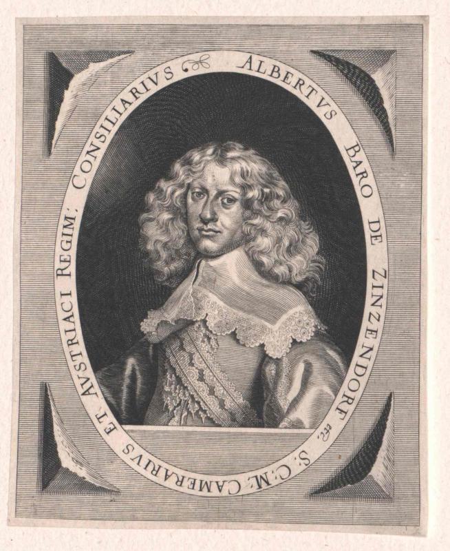 Zinzendorf und Pottendorf, Albrecht Graf von