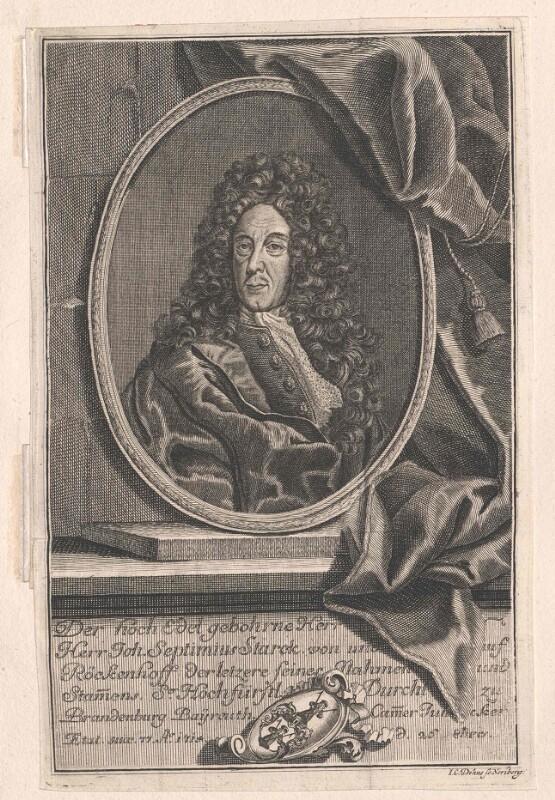 Starck von Reckenhof, Johann Septimius