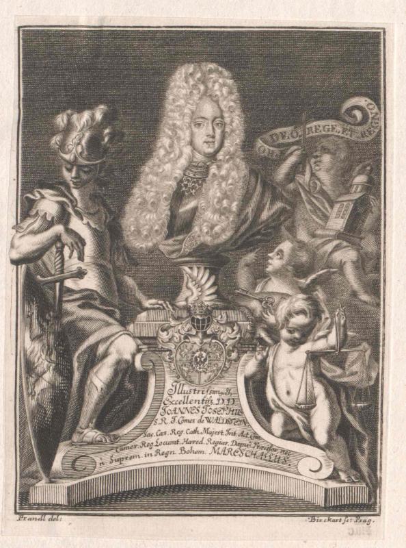 Waldstein, Johann Josef Graf von