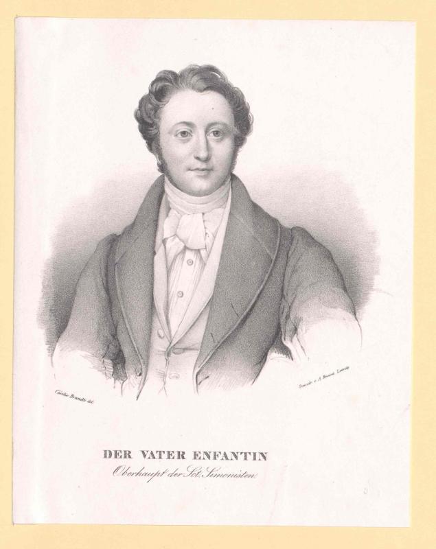 Enfantin, Barthélemy Prosper
