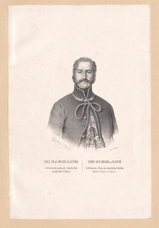 Orsich von Slavetic, Georg Graf