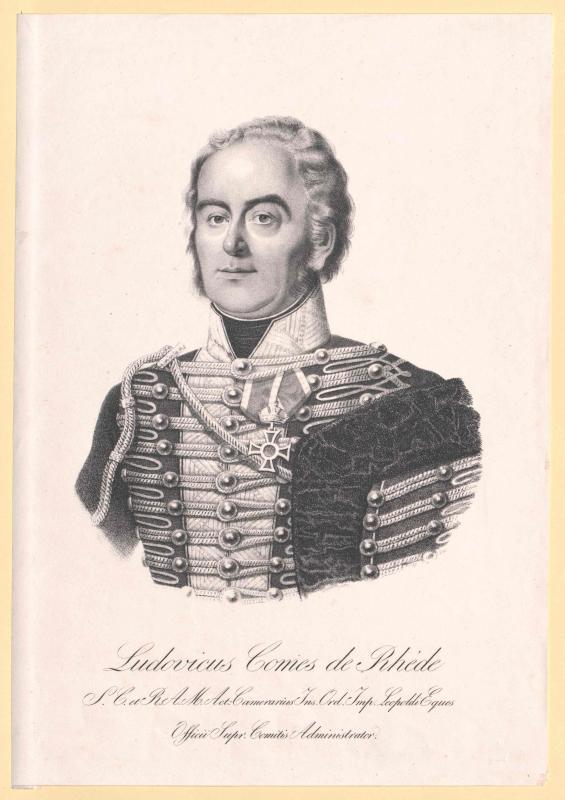 Rhédey von Kis-Rhéde, Ludwig Graf