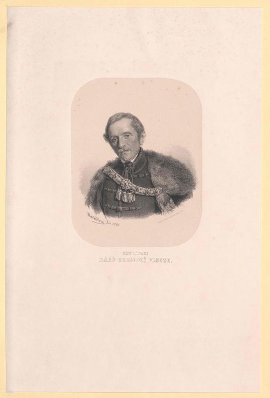 Gerliczy von Arany und Szent Gerlicze, Vinzenz Freiherr von