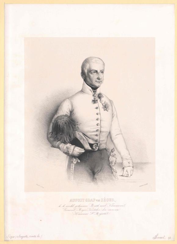 Ségur-Cabanac, August Franz Graf