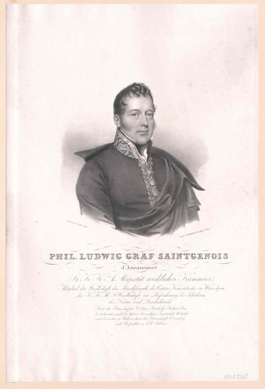 Saint Genois d'Aneaucourt, Philipp Ludwig Graf