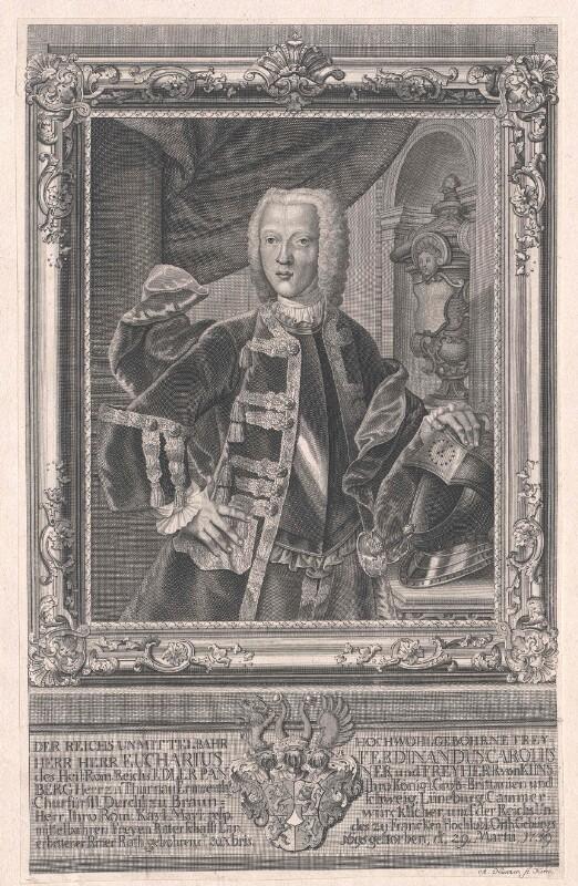 Kinsberg, Eucharius Ferdinand Freiherr von