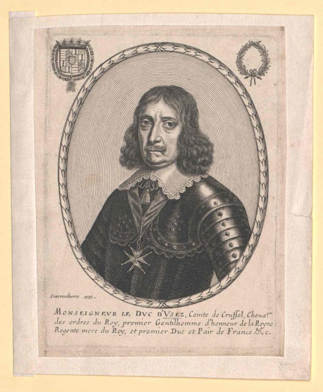 Crussol, Duc d'Usèz, Emmanuel Comte de