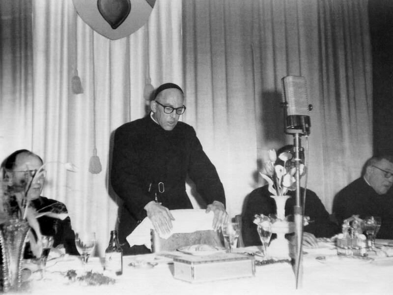 Jubiläumsfeier für Arni Decorte, Bierbeek 1960