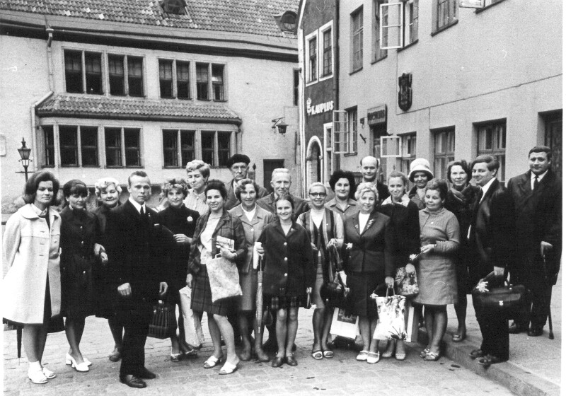 Estnisch-polnischer Freundschaftsabend für Esperantisten, Tallinn 1971