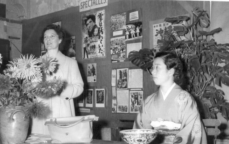 """Ausstellung """"Japanio - hieraŭ kaj hodiaŭ"""", Angers 1958"""