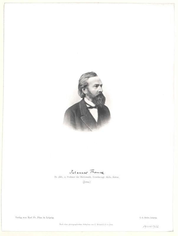 Thomae, Johannes