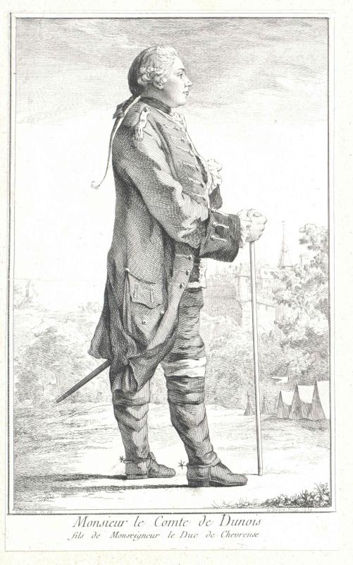 Albert de Luynes, Charles-Marie-Léopold d´ Comte de Dunois