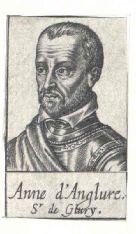Anglure, Comte de Givry, Anne d'