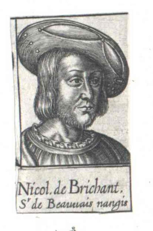 Brichanteau, Seigneur de Beauvoir en Brie, Nicolas de