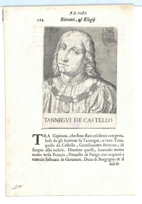 Du Châtel, Tanguy