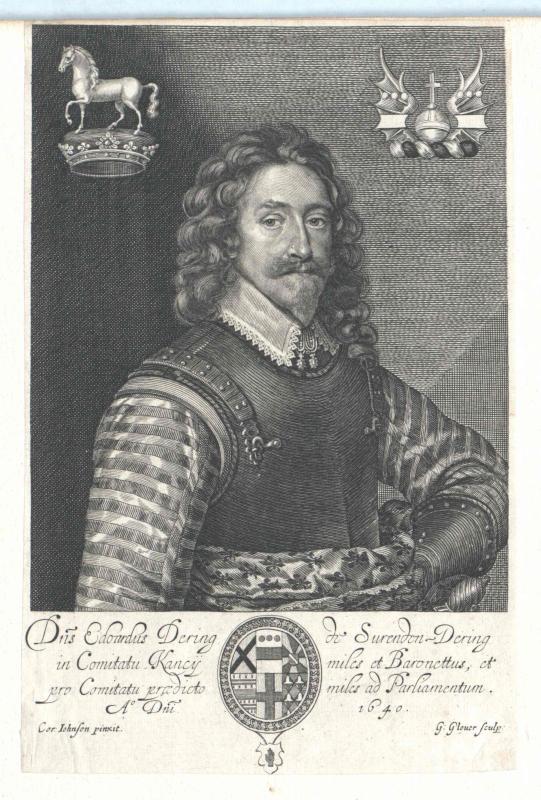 Dering, Sir Edward, 1st Baronet