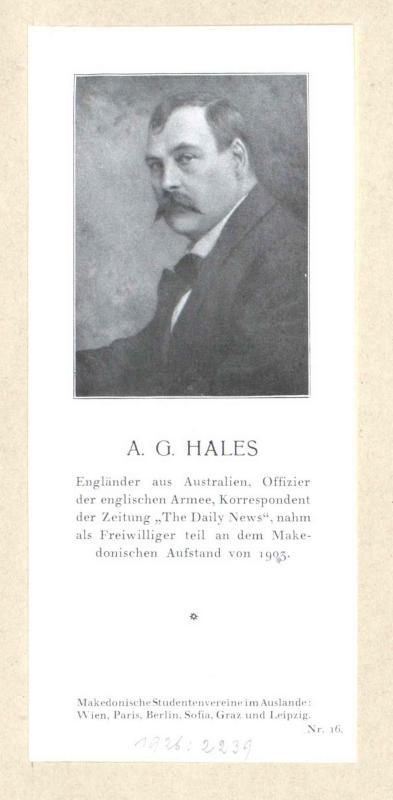 Hales, Alfred Arthur Greenwood