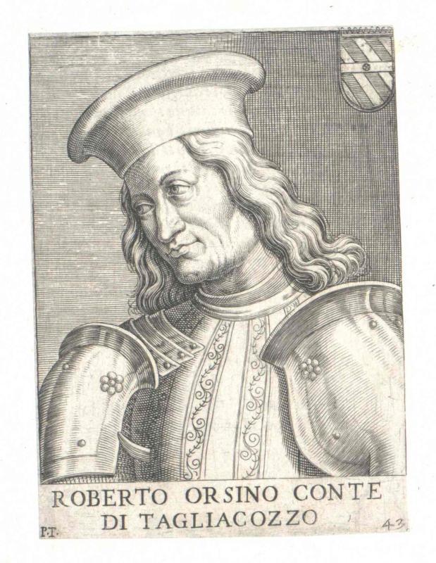 Orsini, Conte di Tagliacozzo, Roberto