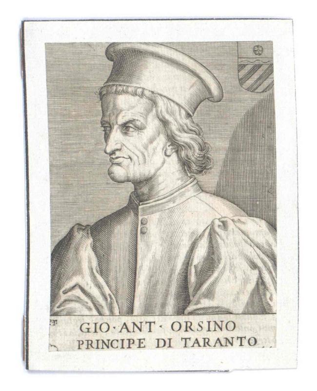 Orsini Del Balzo, Principe di Taranto, Giovanni Antonio