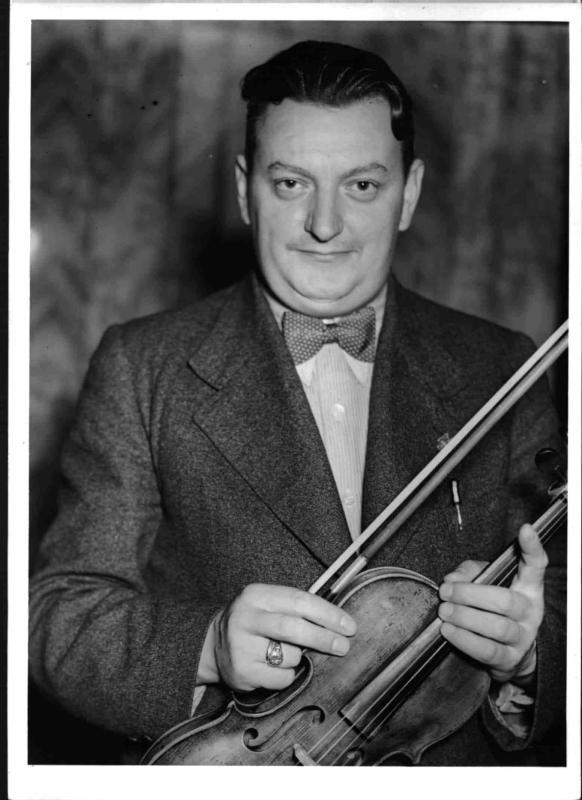 Der Komponist und Kapellmeister Victor Hruby