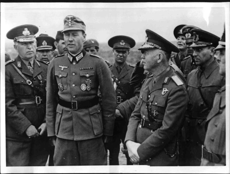 Marschall Antonescu in Sewastopol