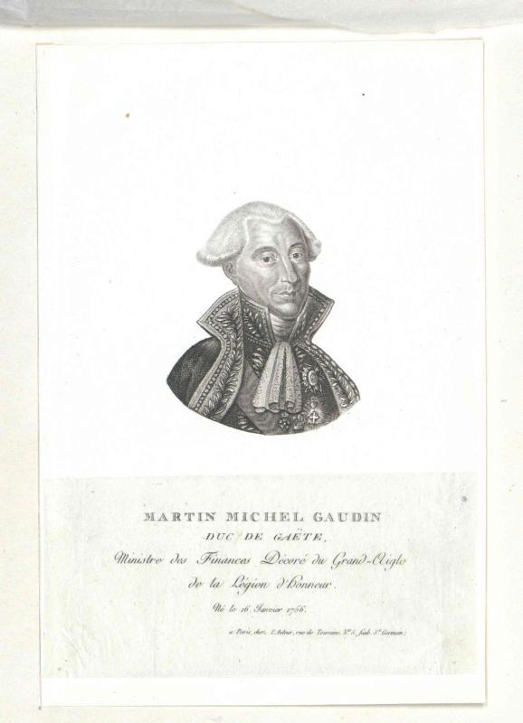 Gaudin, Duc de Gaëte, Martin Michel