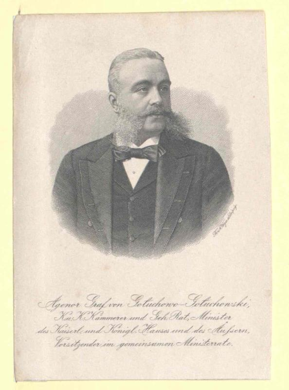 Goluchowski, Agenor Graf