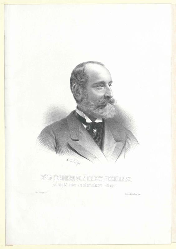 Orczy von Orczi, Béla Baron