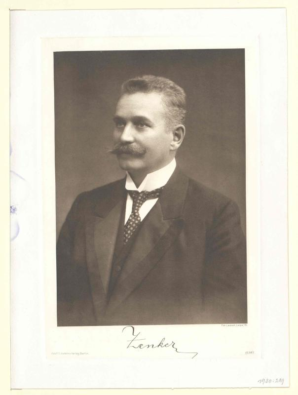 Zenker, Franz Freiherr von