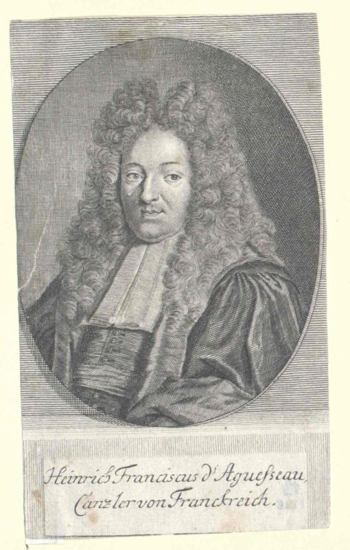 Aguesseau, Henri François d´