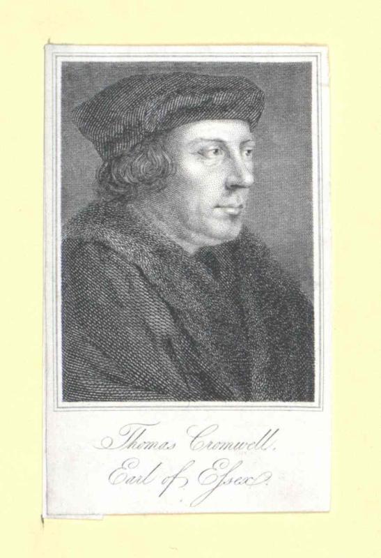 Cromwell, 1. Earl of Essex, Thomas