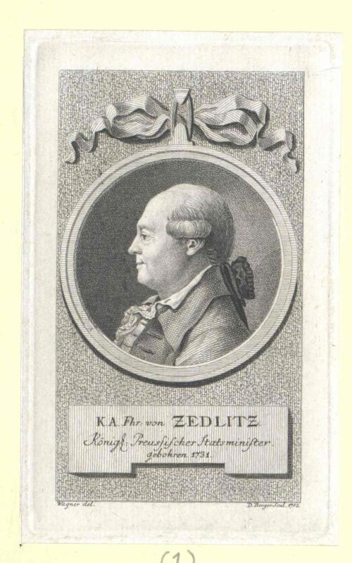 Zedlitz, Karl Abraham Freiherr von