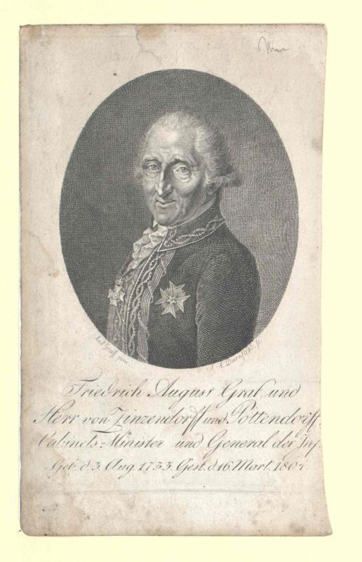 Zinzendorf und Pottendorf, Friedrich August Graf von