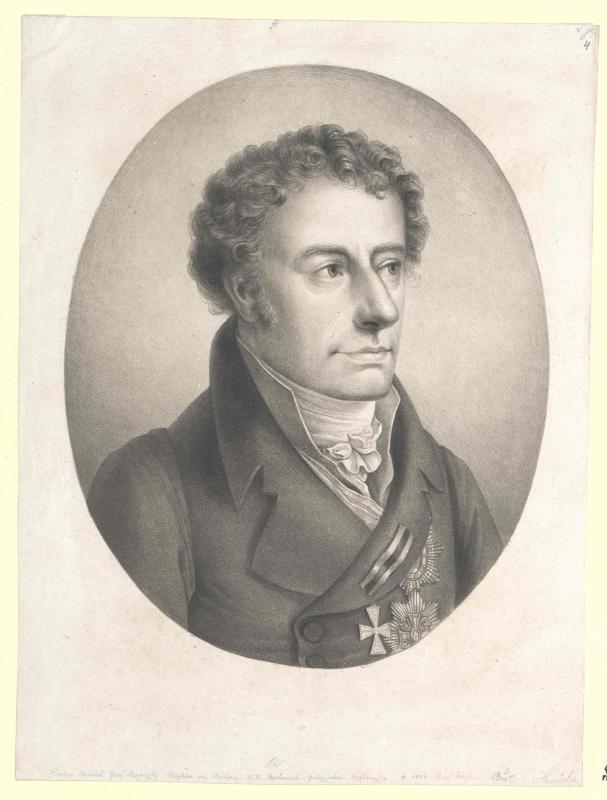 Lažanský, Freiherr von Bukowa, Prokop Graf