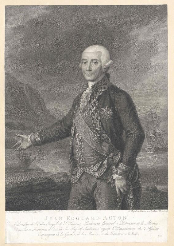 Acton, 6. Baronet Acton, John